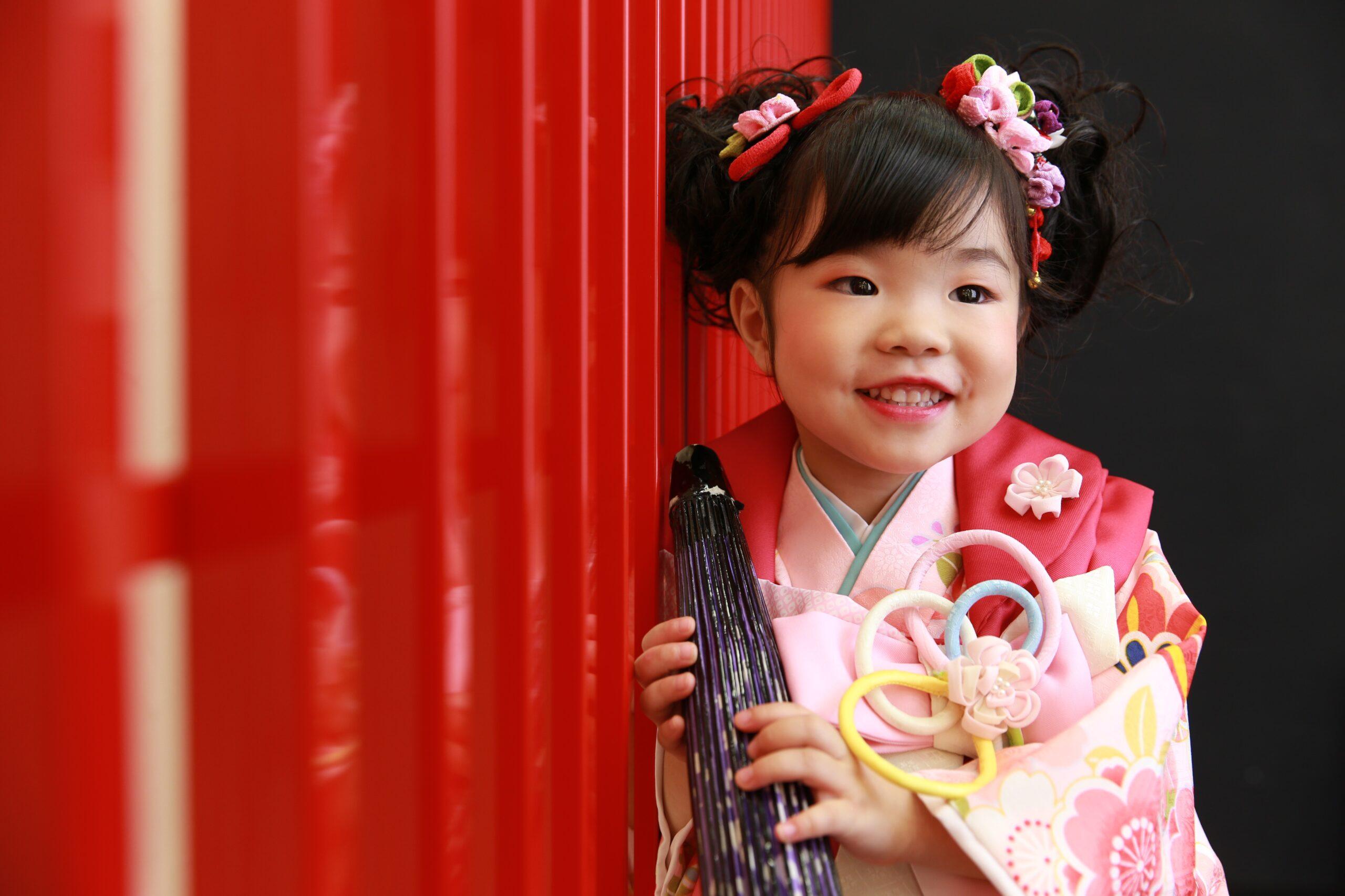 沼津で撮影 3歳の七五三