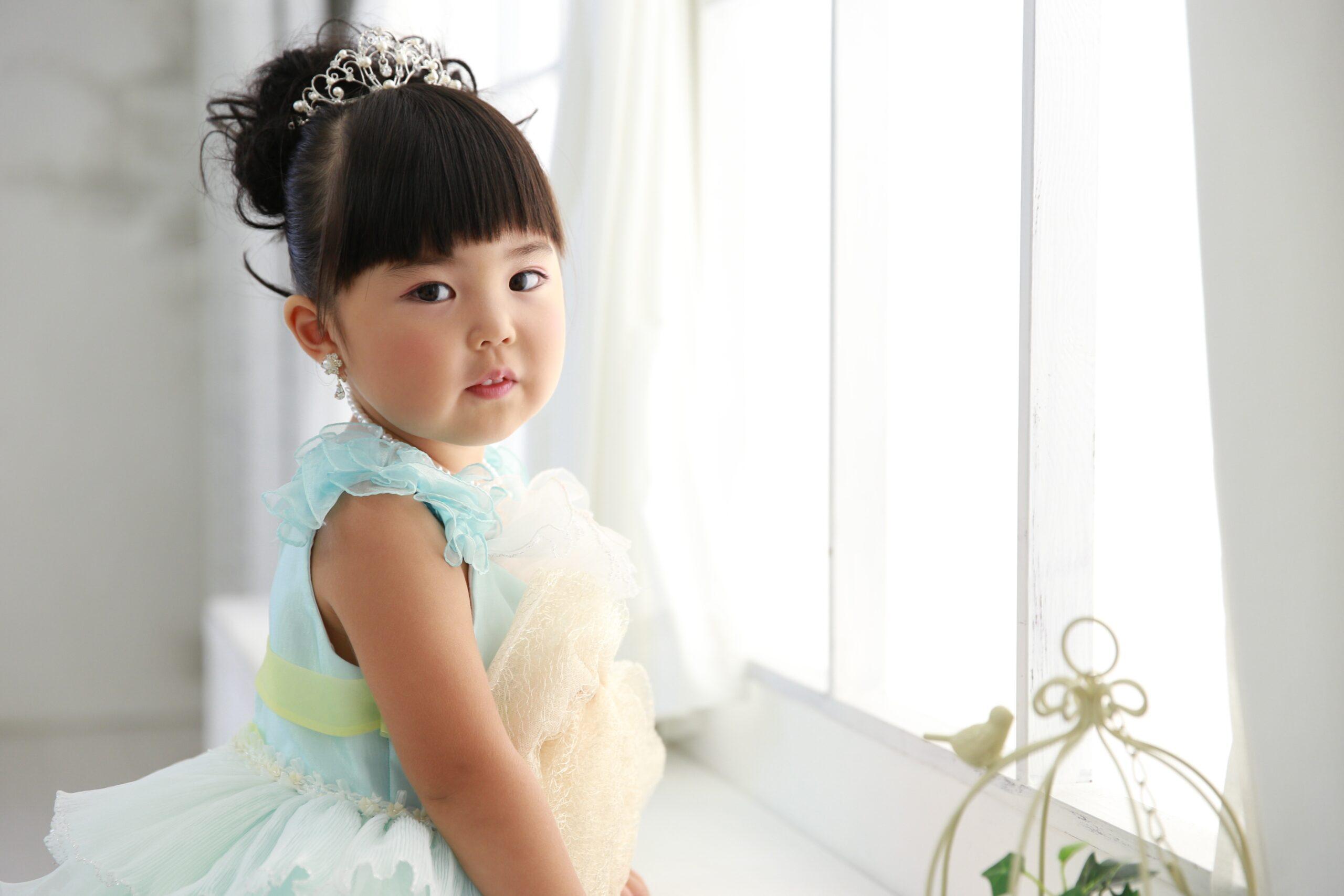 もなみの七五三 お姫様ドレス