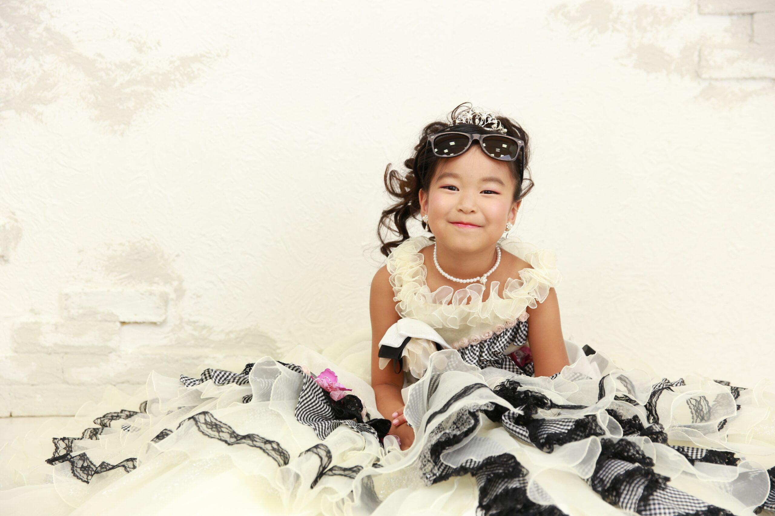 7歳の七五三 ドレス