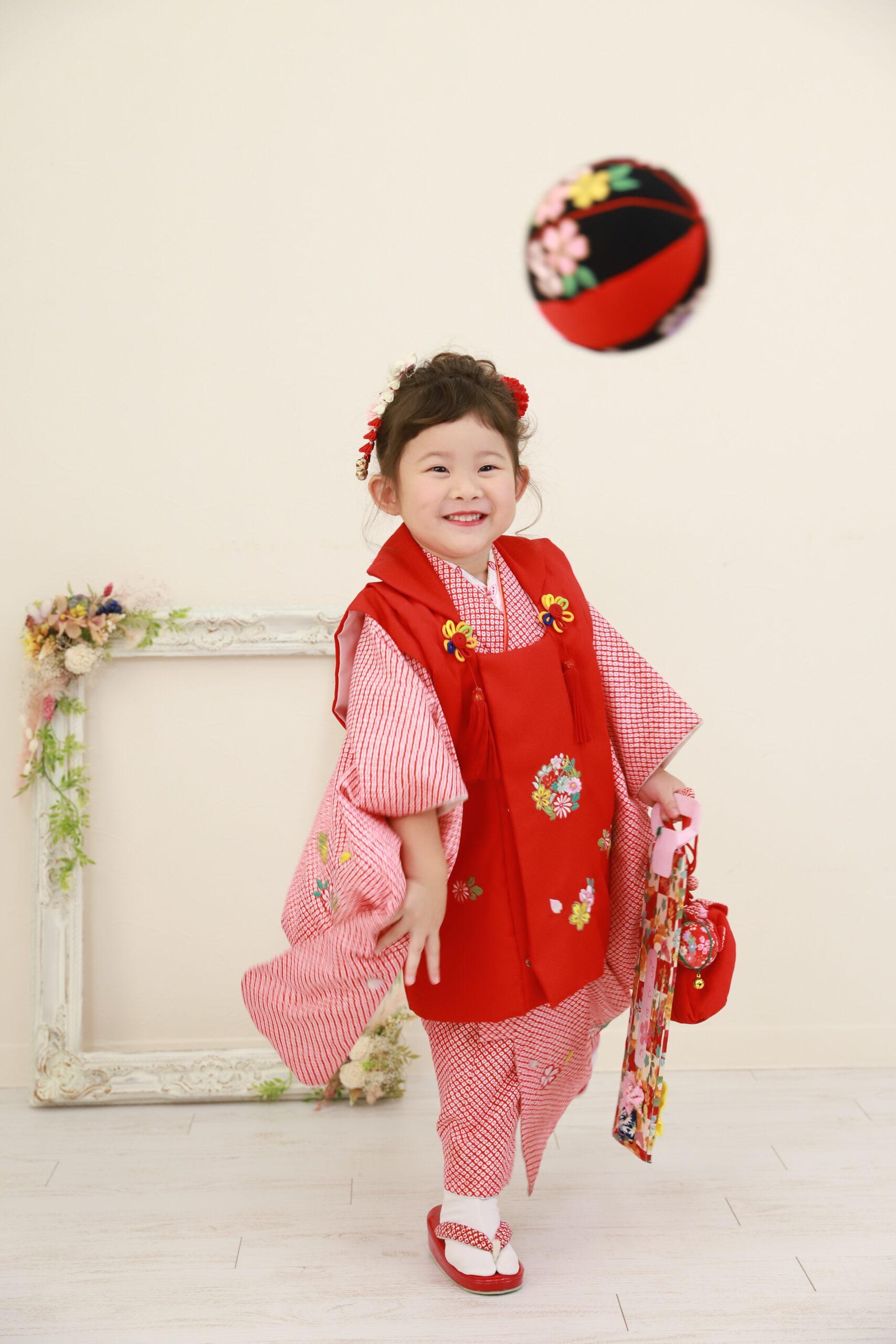 函南で3歳の七五三!撮影も楽しい思い出