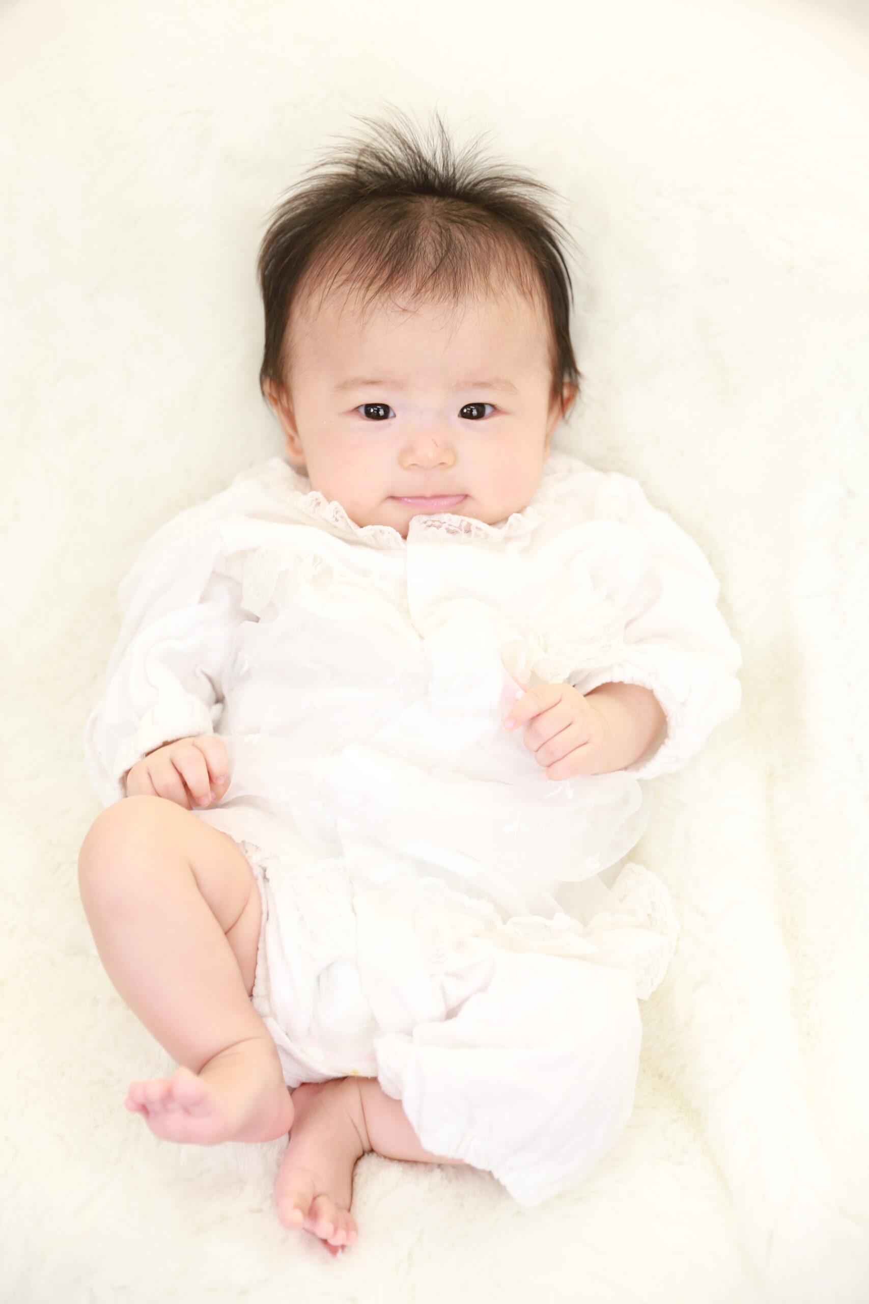 三嶋大社でお宮参り!赤ちゃんの可愛い姿を残します